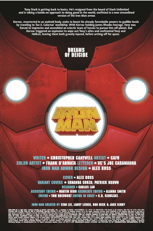 IM2020006_Preview-2 ComicList Previews: IRON MAN #6