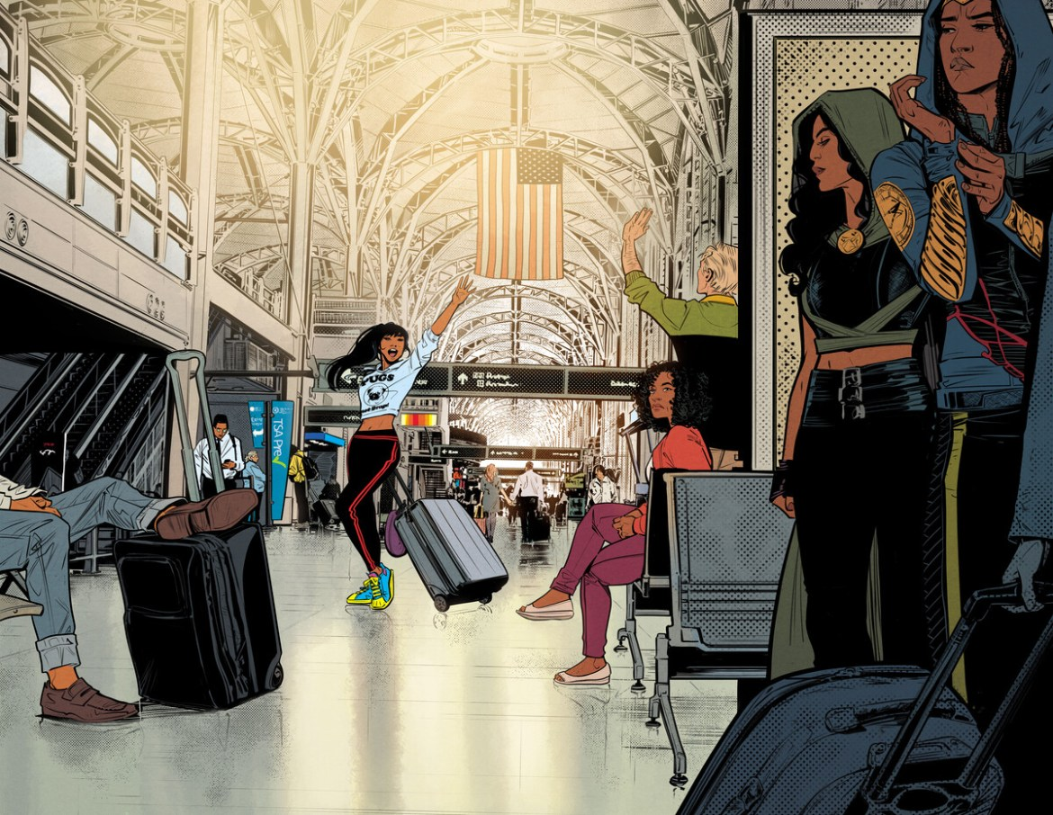 INFRONTIER_1_by_Joelle_Jones_and_Jordie_Bellaire_6019e3948a4087.73530809 Yara Flor becomes the new WONDER GIRL this May
