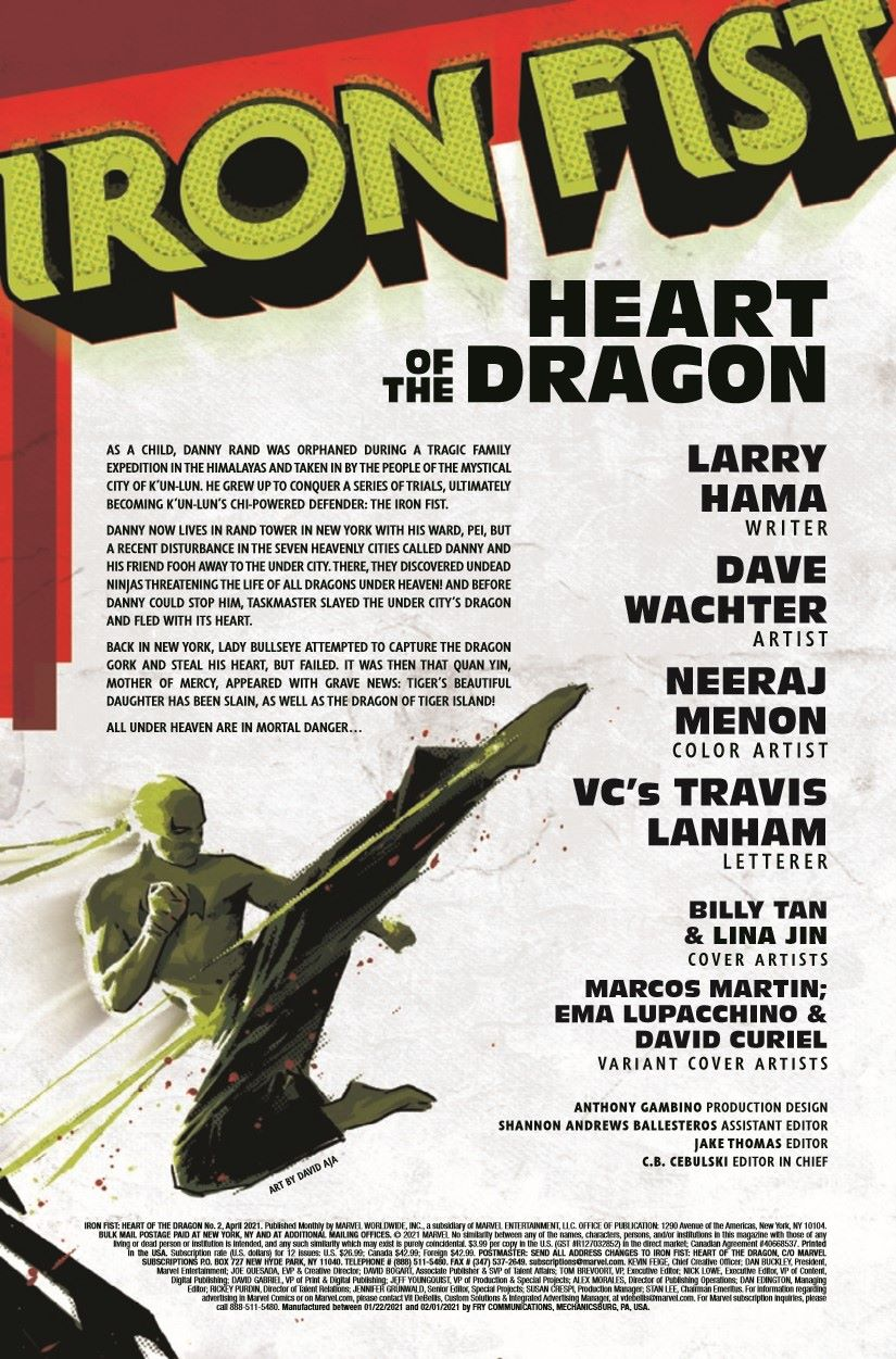 IRONFISTHOD2021002_Preview-2 ComicList Previews: IRON FIST HEART OF THE DRAGON #2 (OF 6)