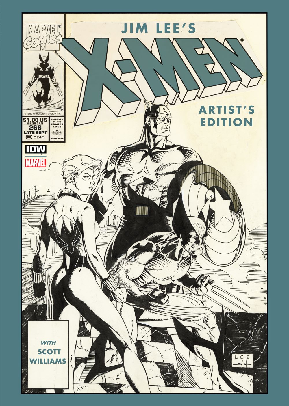 JimLee_X-Men-front ComicList: IDW Publishing New Releases for 02/24/2021