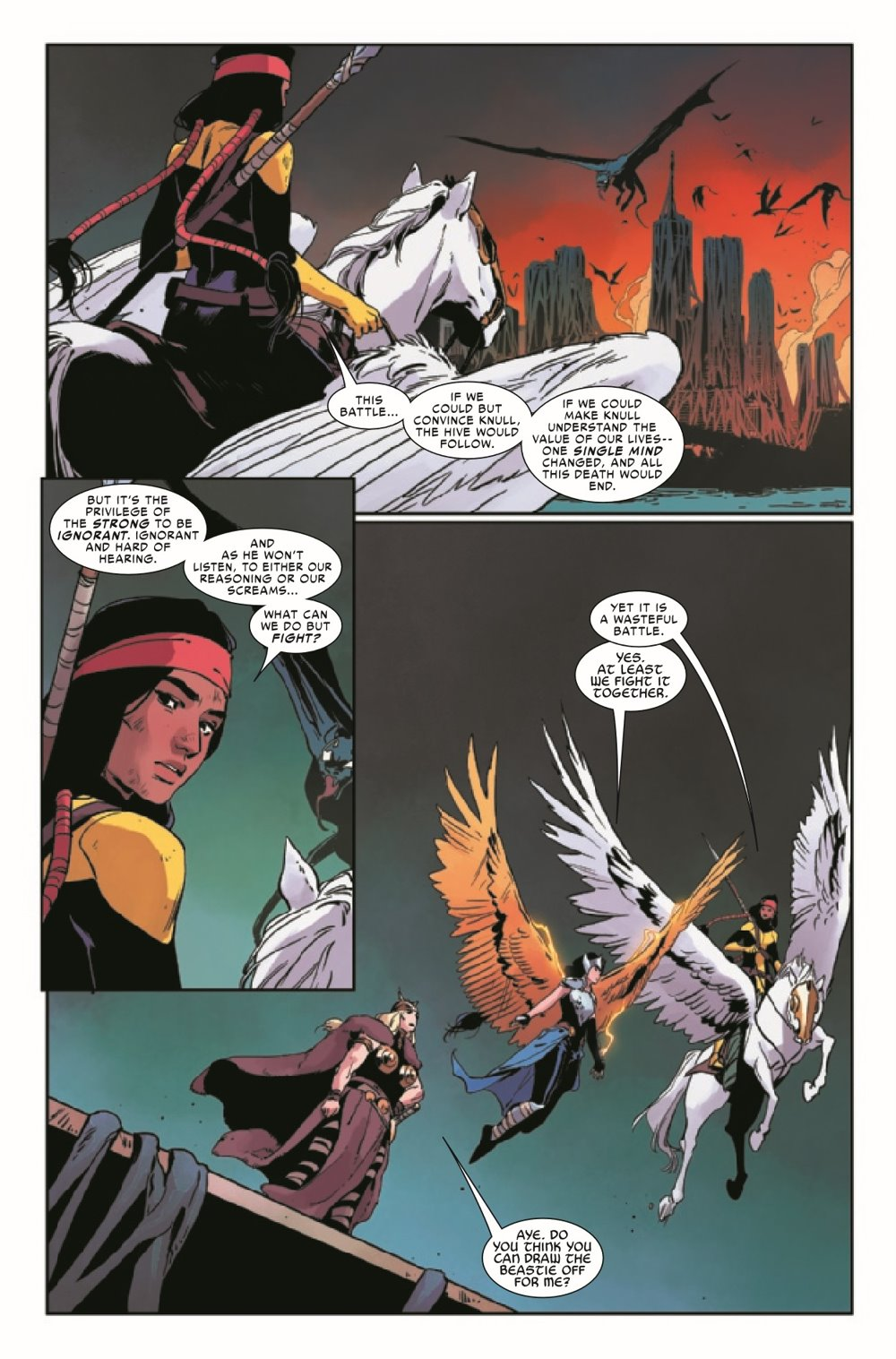 KIBVALKYRIESRET2021003_Preview-6 ComicList Previews: KING IN BLACK RETURN OF THE VALKYRIES #3 (OF 4)