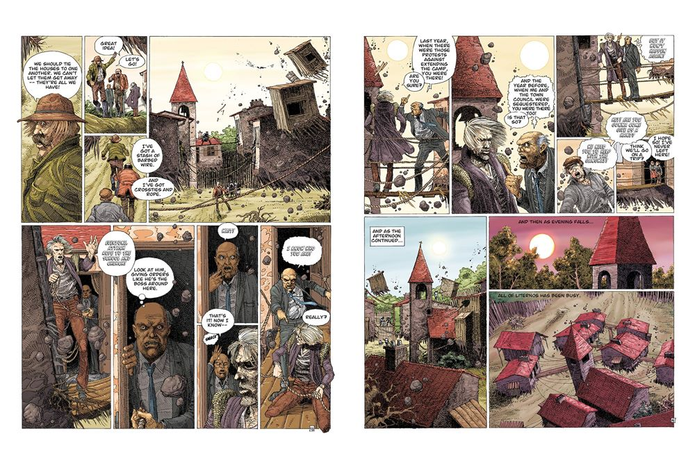 Legends-spread-3 ComicList Previews: ENKI BILAL LIBRARY VOLUME 1 LEGENDS OF TODAY HC