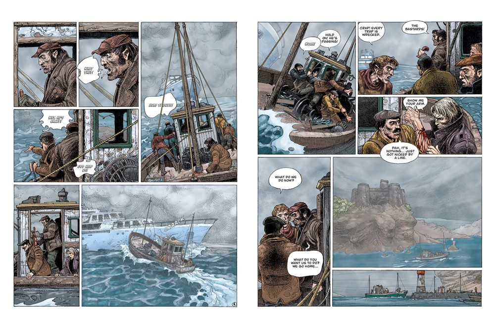 Legends-spread-4 ComicList Previews: ENKI BILAL LIBRARY VOLUME 1 LEGENDS OF TODAY HC