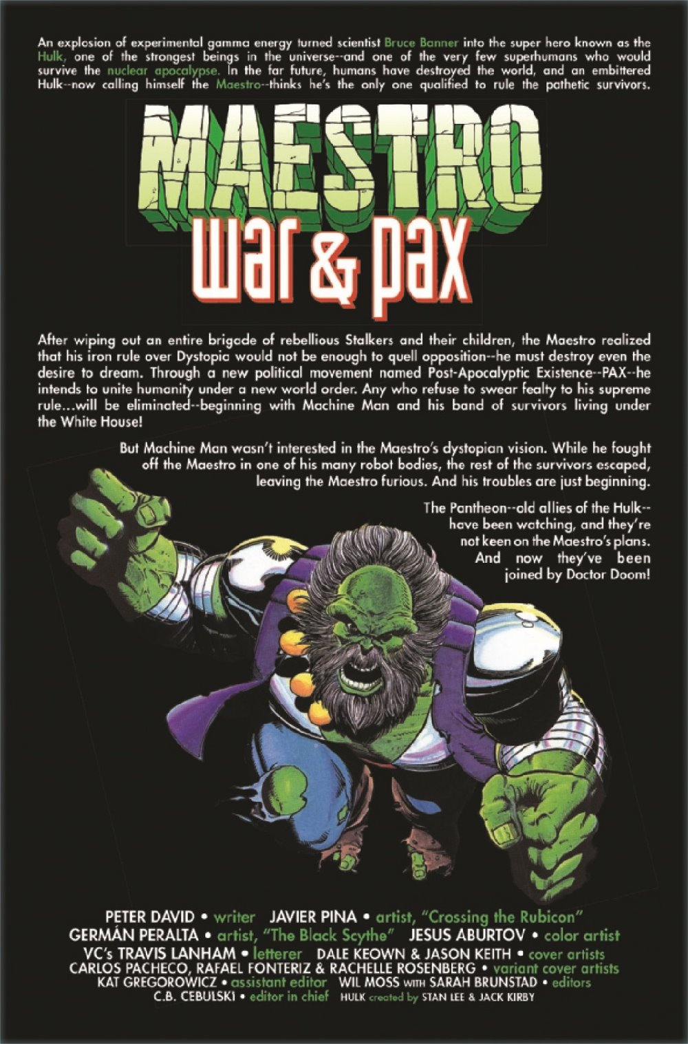 MAESTROWAP2021002_Preview-2 ComicList Previews: MAESTRO WAR AND PAX #2 (OF 5)