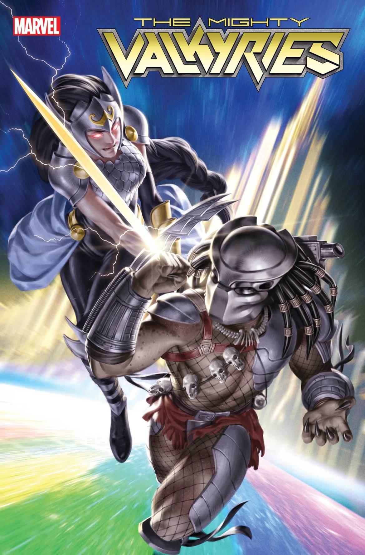 MIGHTYVALKYRIES2021002_PredatorVar Marvel Comics May 2021 Solicitations