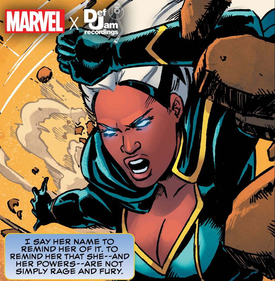 MarvelXDefJam-Storm Def Jam Recordings artists to create Black Panther short stories