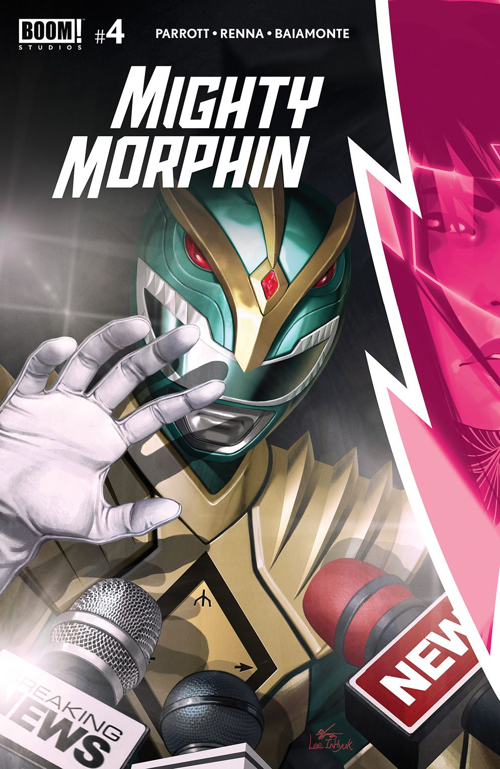 MightyMorphin_004_Cover_A_Main ComicList Previews: MIGHTY MORPHIN #4
