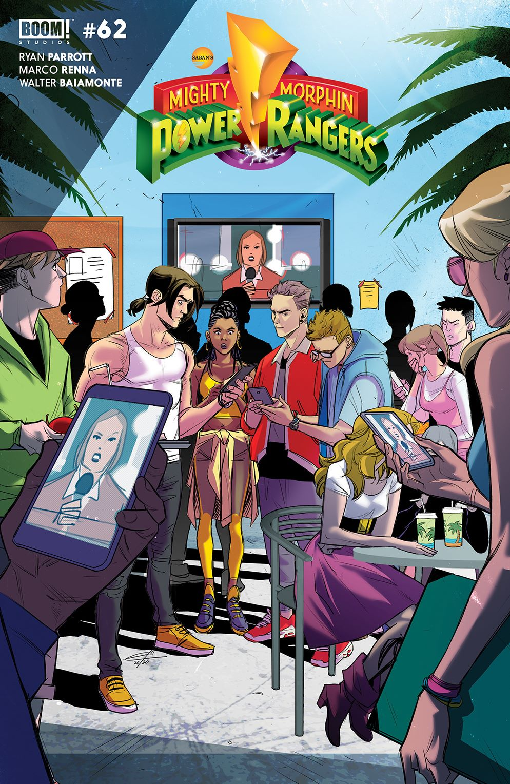 MightyMorphin_004_Cover_B_Legacy ComicList Previews: MIGHTY MORPHIN #4