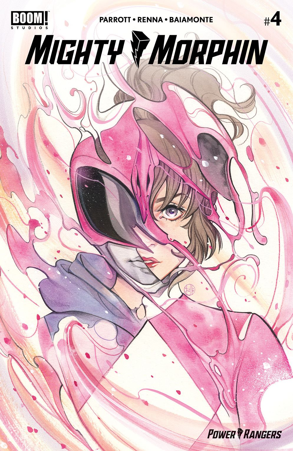 MightyMorphin_004_Cover_F_Variant ComicList Previews: MIGHTY MORPHIN #4