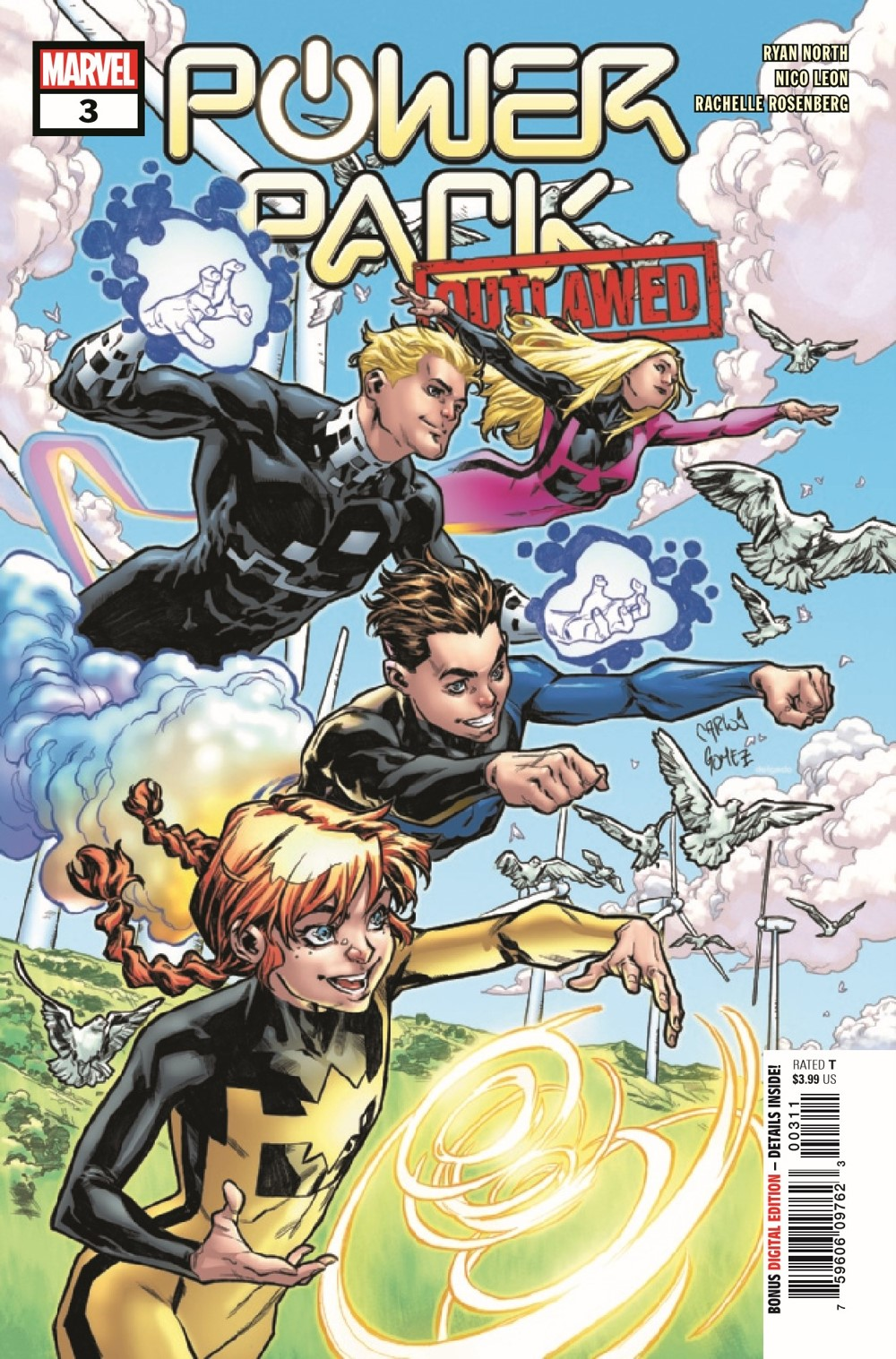 PWRPAC2020003_Preview-1 ComicList Previews: POWER PACK #3 (OF 5)