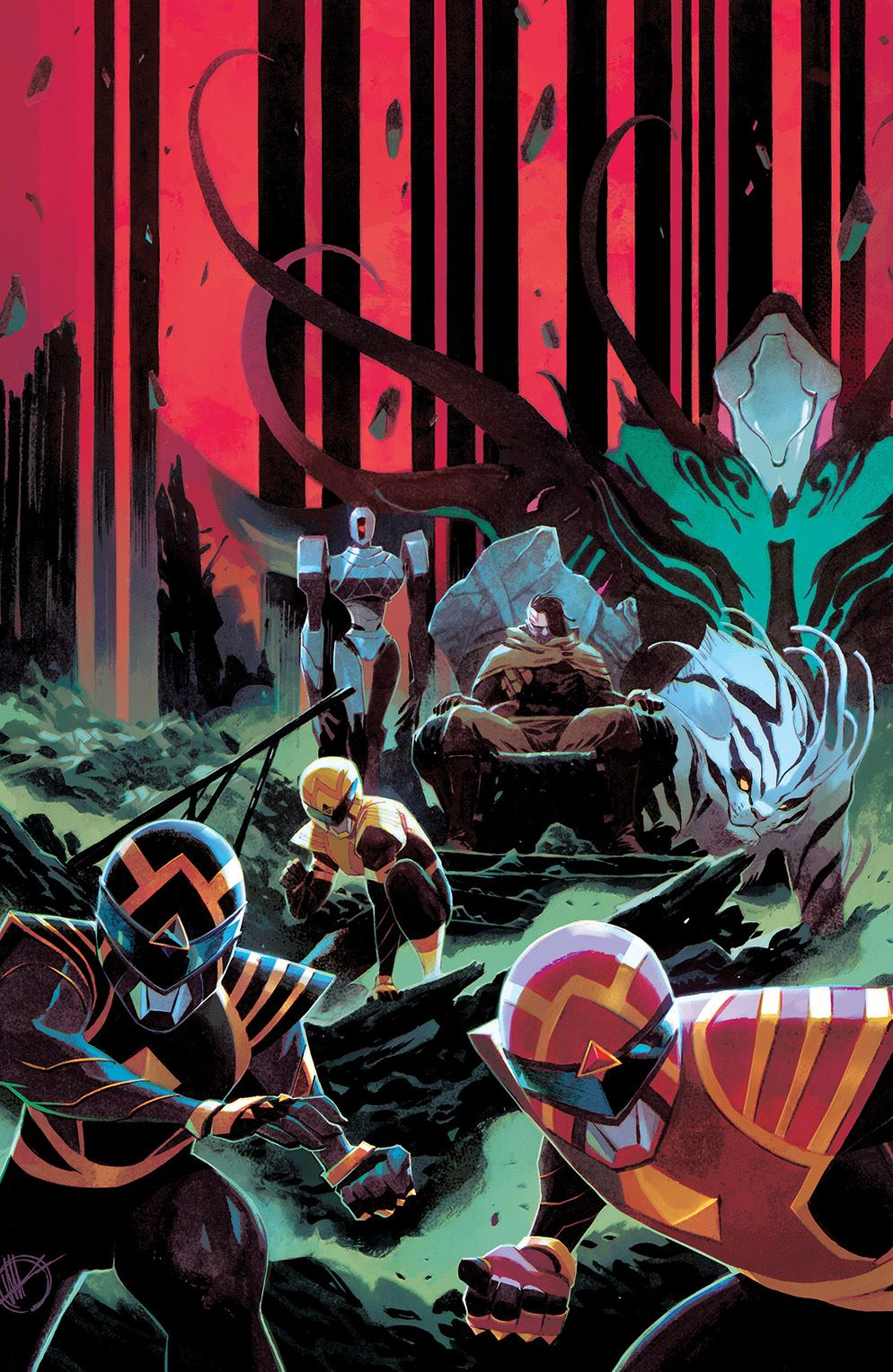 PowerRangers_004_Cover_E_Variant ComicList: BOOM! Studios New Releases for 02/17/2021