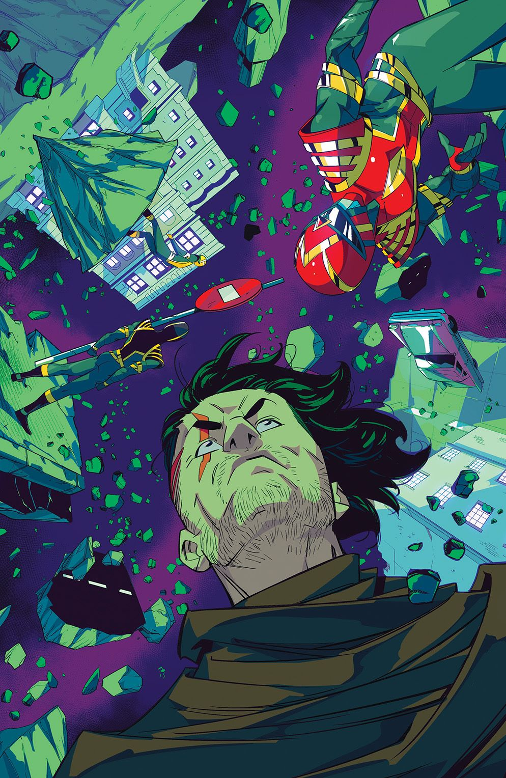 PowerRangers_004_Cover_F_Variant ComicList: BOOM! Studios New Releases for 02/17/2021