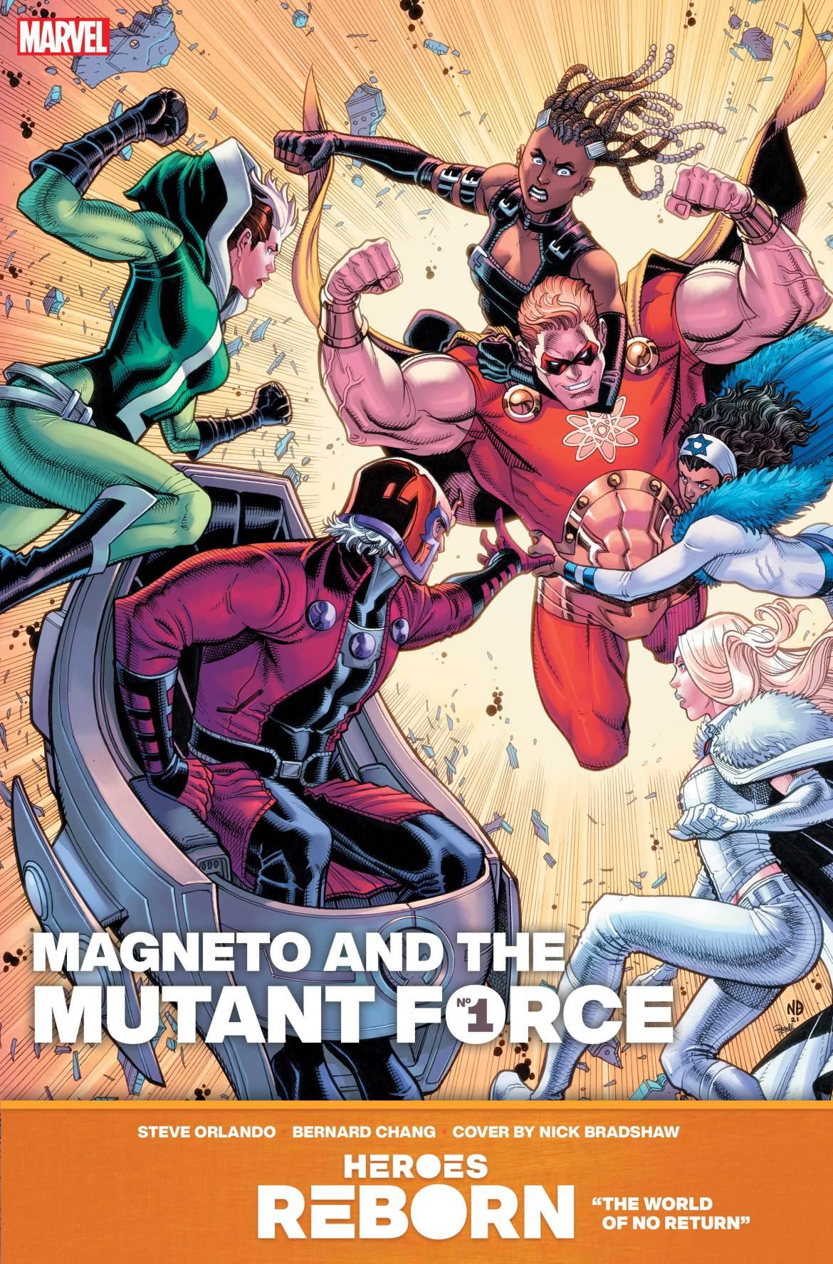 REBORN_MagnetoMutantForce-1 Marvel Comics May 2021 Solicitations