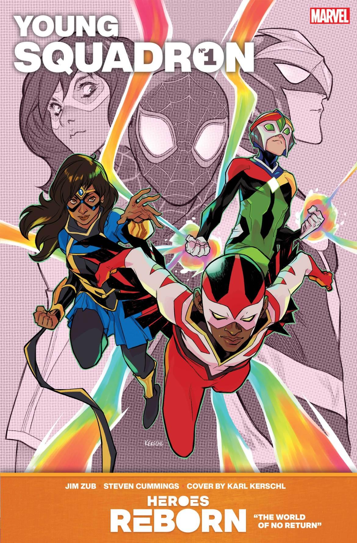 REBORN_YoungSquadron-1 Marvel Comics May 2021 Solicitations