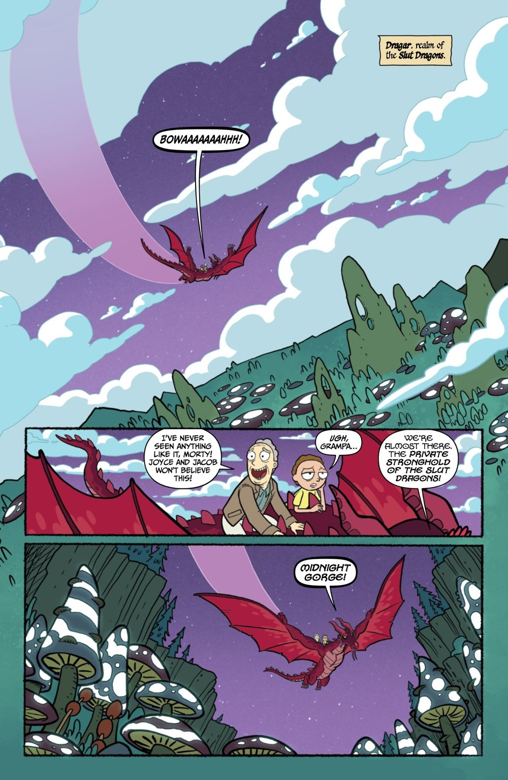 RICKMORTY-WORLDSAPART-2-REFERENCE-09 ComicList Previews: RICK AND MORTY WORLDS APART #2