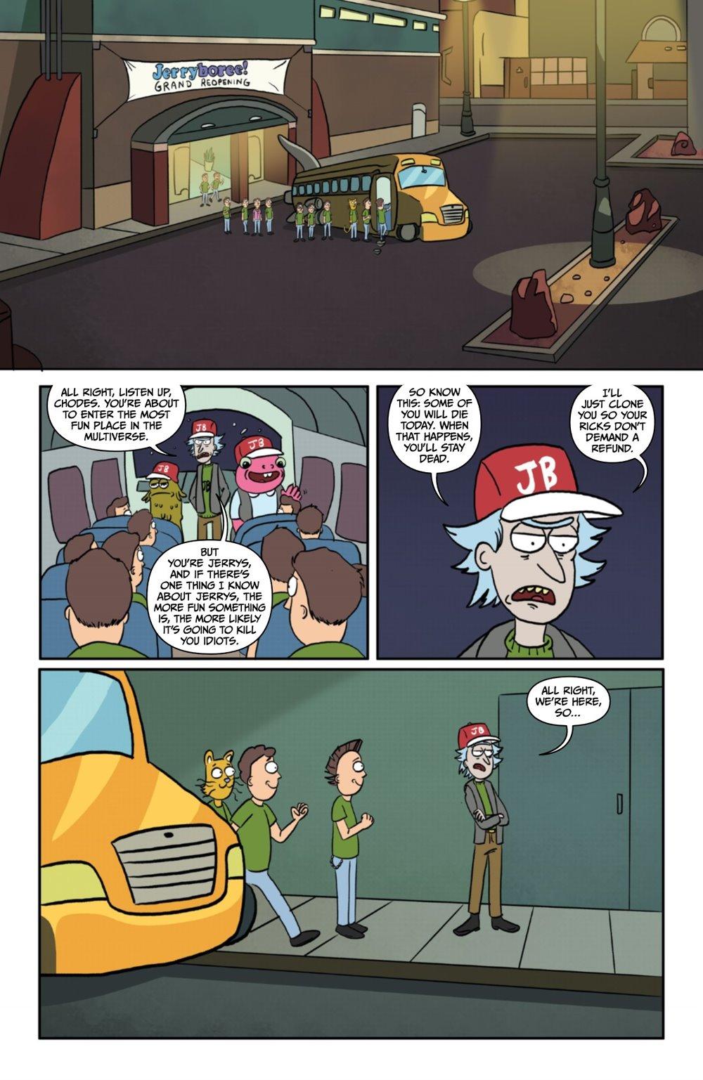 RM-PRES-JERRYBOREE-1-MARKETING-05 ComicList Previews: RICK AND MORTY PRESENTS JERRYBOREE #1