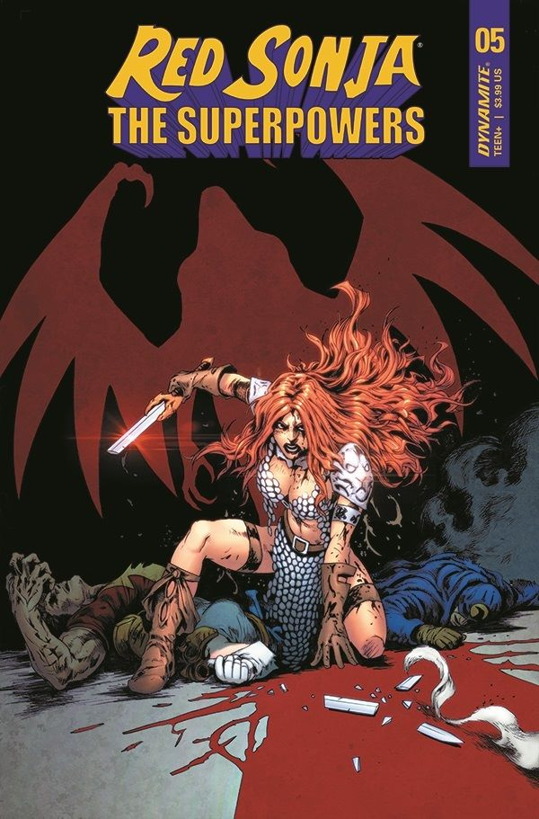 RS-SuperPowers-05-05041-D-Lau Dynamite Entertainment May 2021 Solicitations