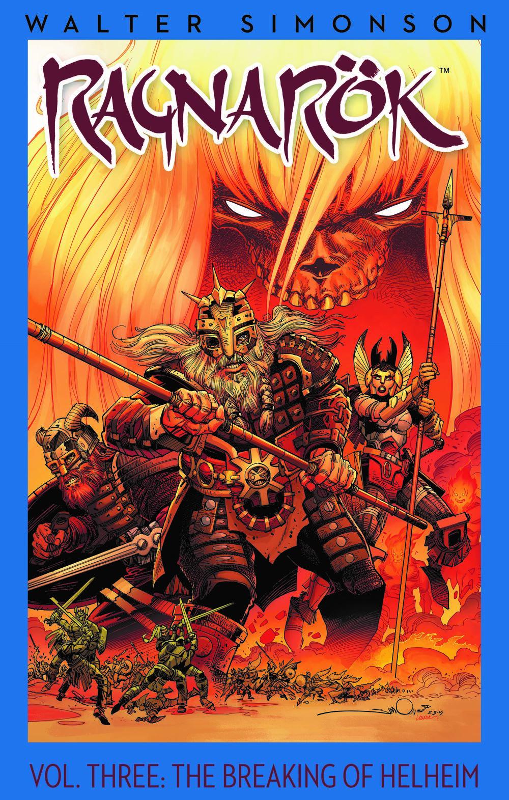 Ragnarok03-HC_cvr ComicList Previews: RAGNAROK VOLUME 3 THE BREAKING OF HELHEIM HC