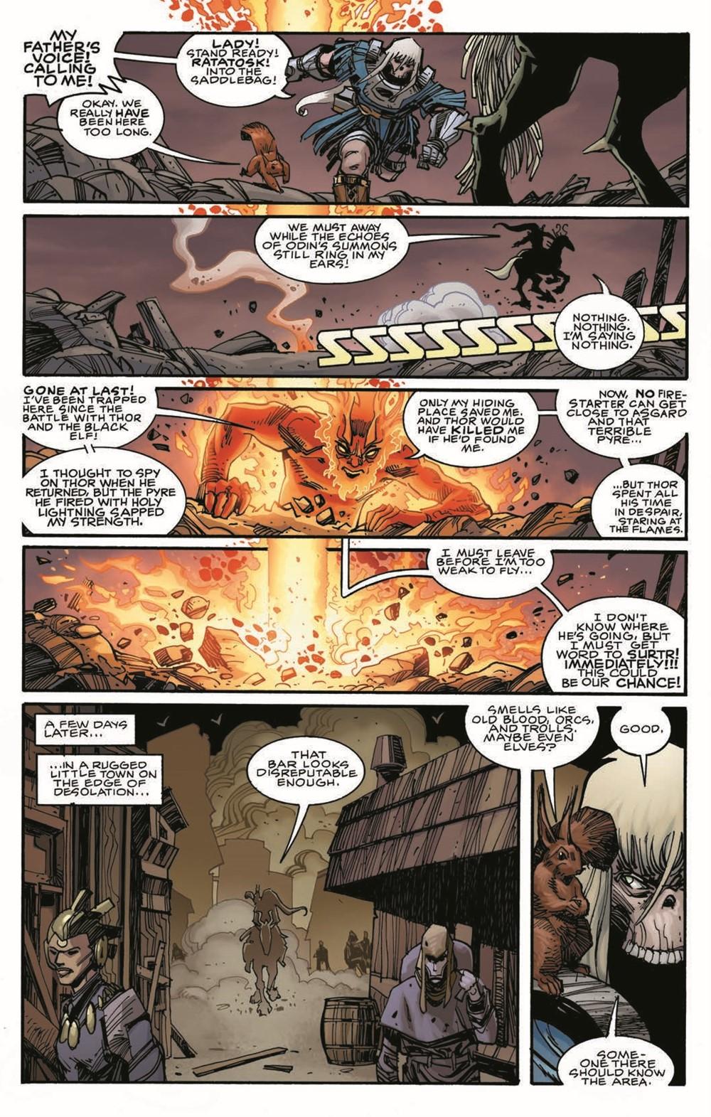 Ragnarok03-HC_pr-6 ComicList Previews: RAGNAROK VOLUME 3 THE BREAKING OF HELHEIM HC