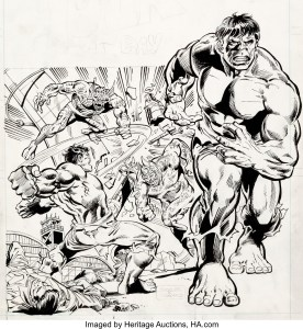Rich-Buckler-Hulk-At-Bay-276x300 Power Records Comics: Superheroes, SciFi, and More