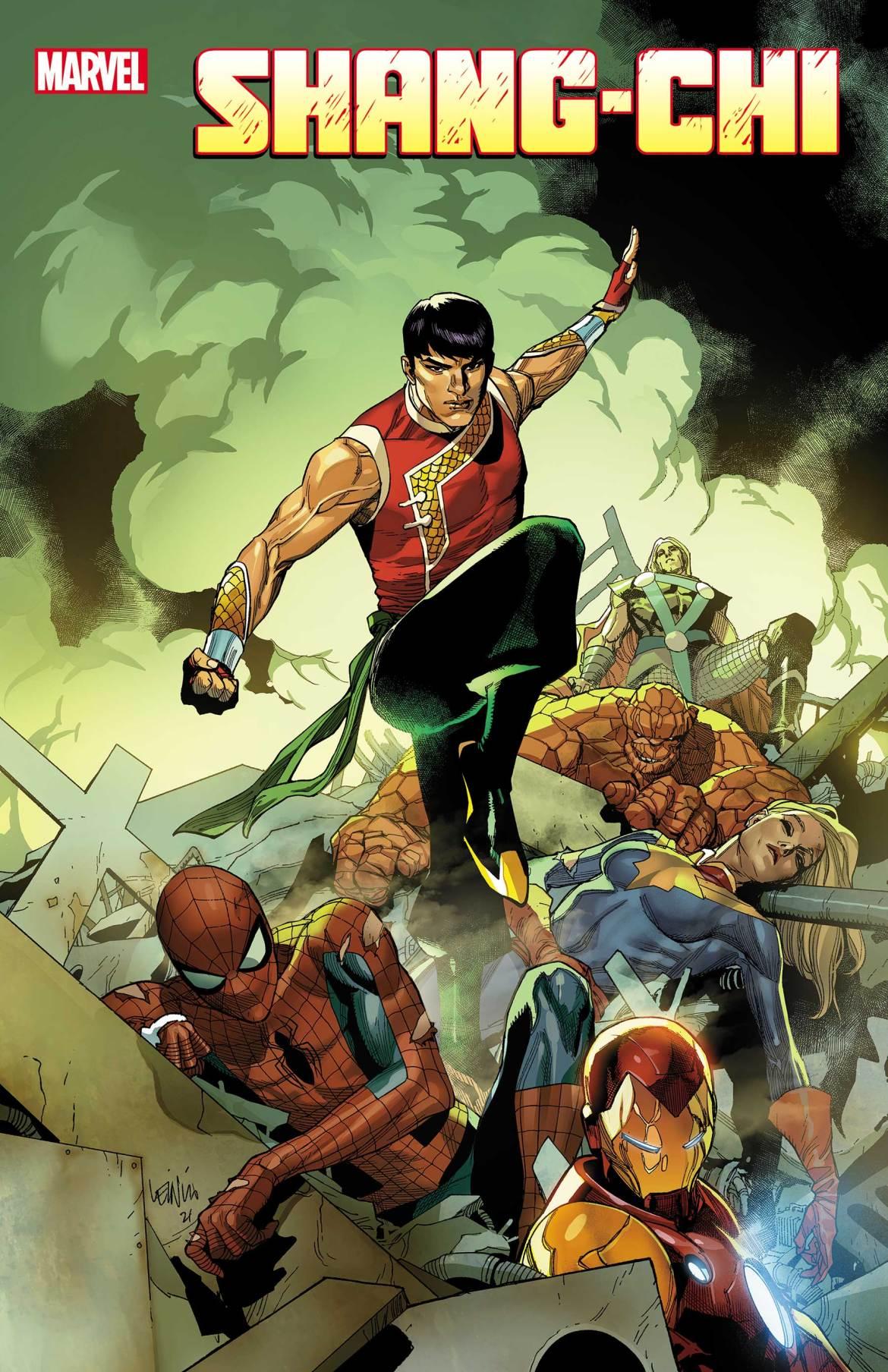 SHANGCHI2021001_cov-1 Marvel Comics May 2021 Solicitations