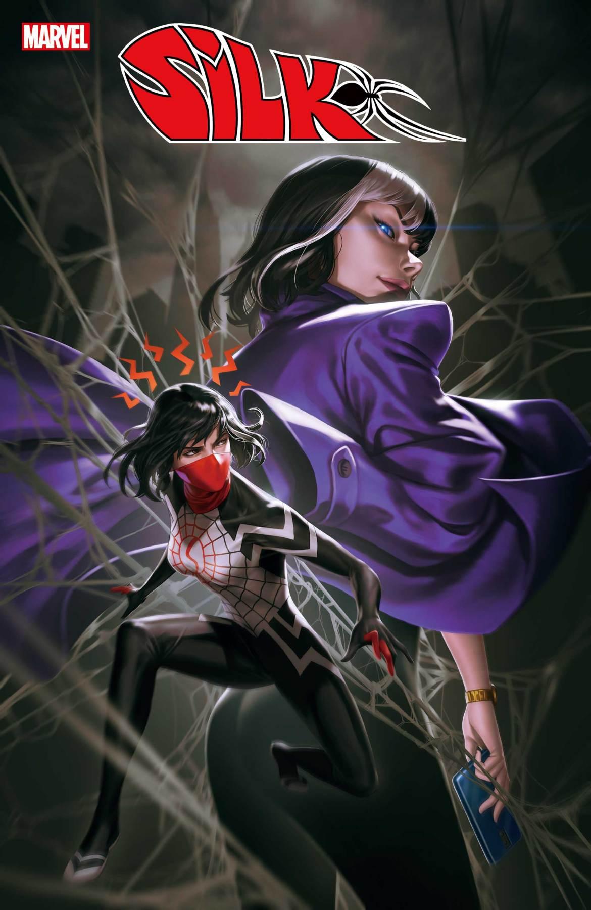 SILK2021003_cov Marvel Comics May 2021 Solicitations