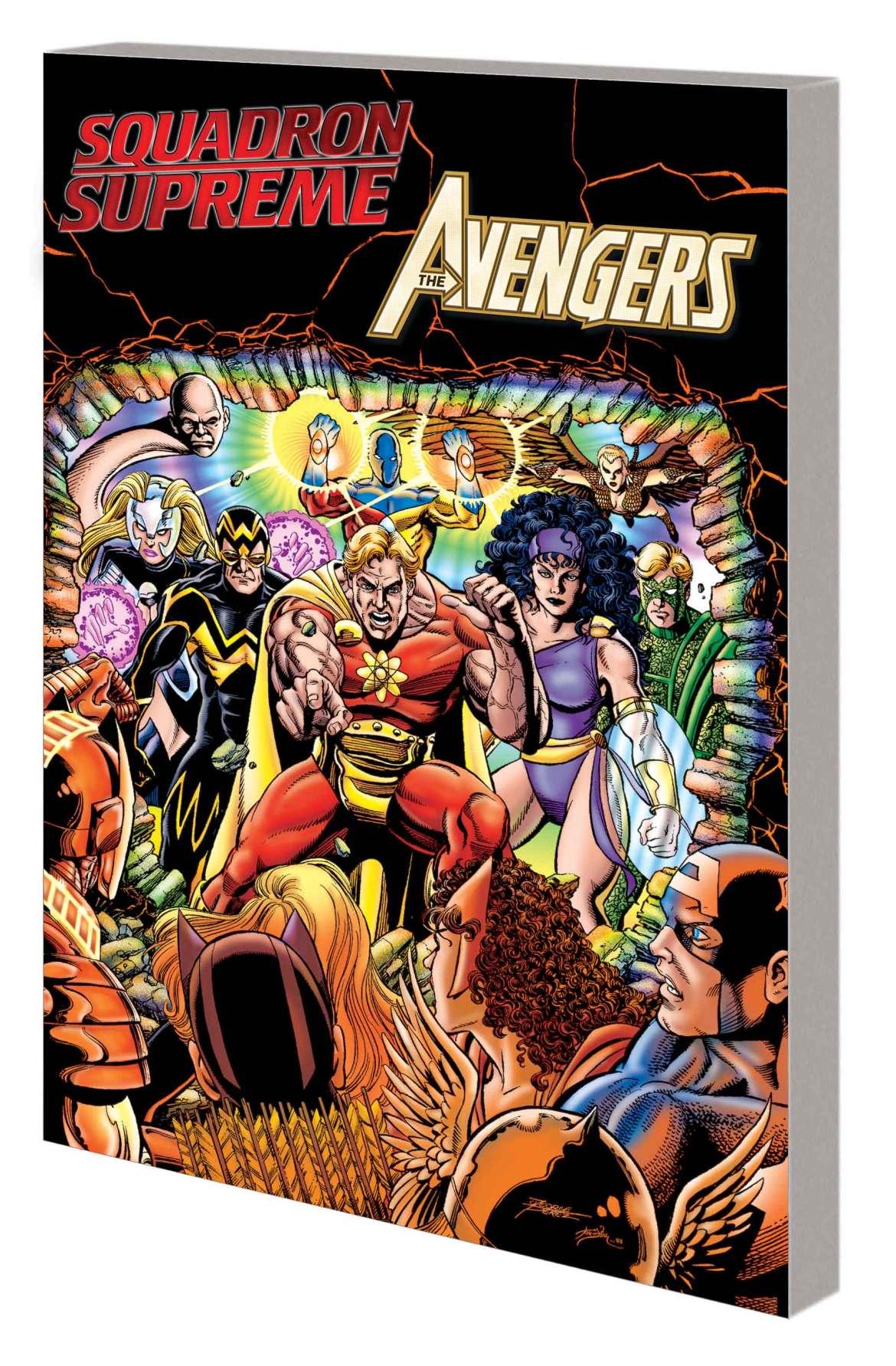 SS_vs_AVENGERS_TPB Marvel Comics May 2021 Solicitations