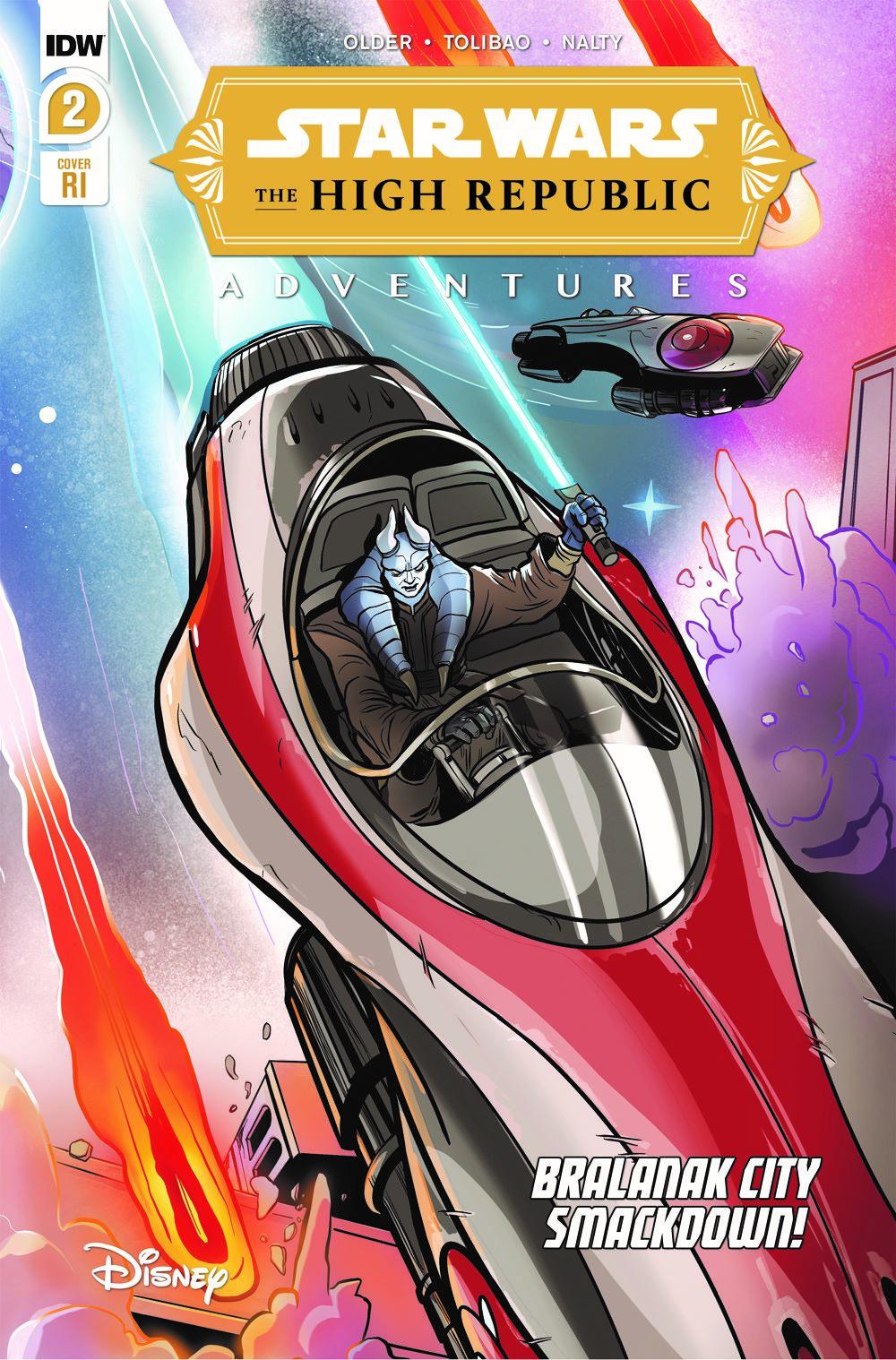 StarWarsHighRepublic-02-RI ComicList: IDW Publishing New Releases for 03/03/2021