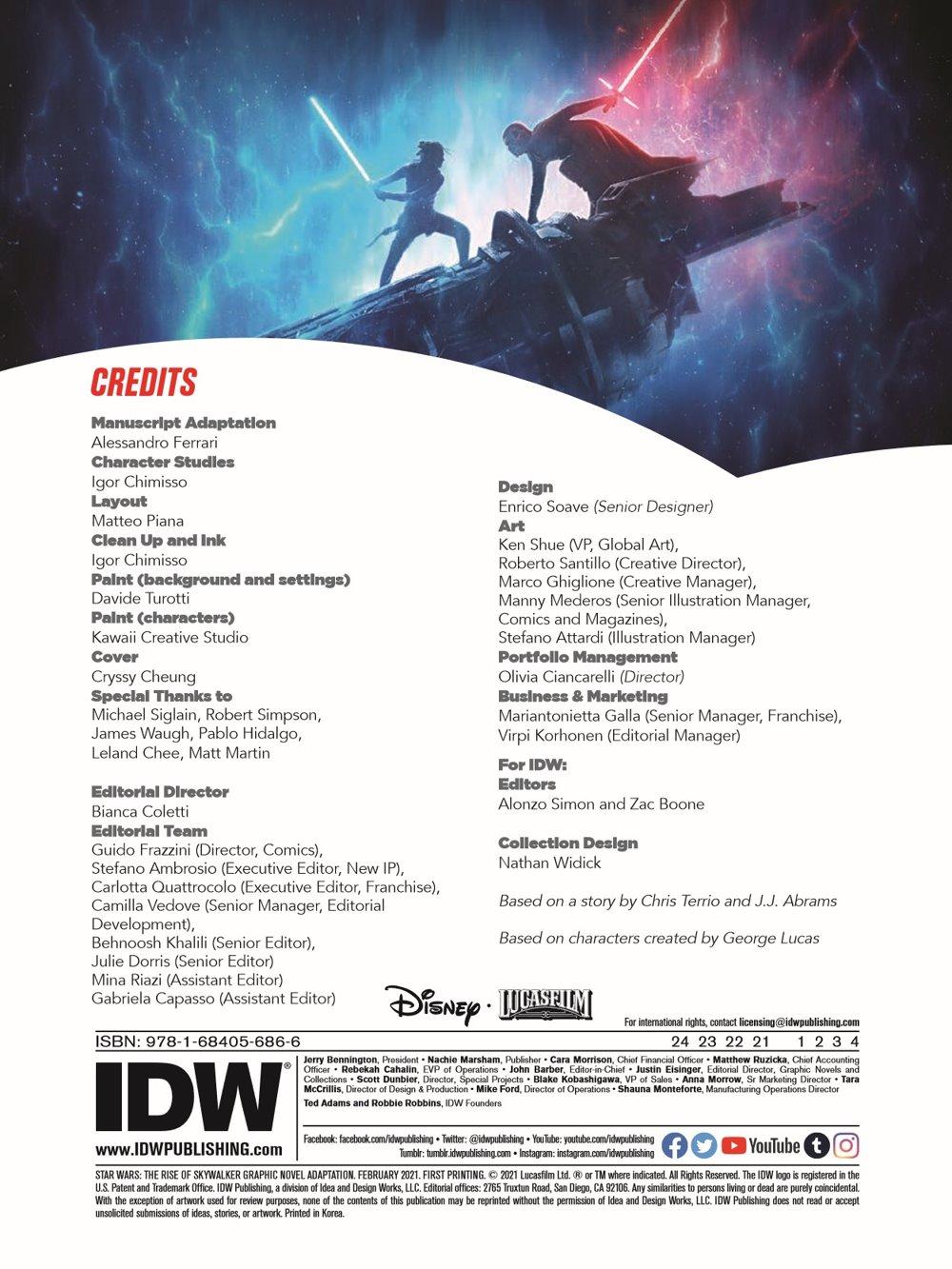 StarWars_IX_TheRiseOfSkywalker_pr-2 ComicList Previews: STAR WARS THE RISE OF SKYWALKER GN