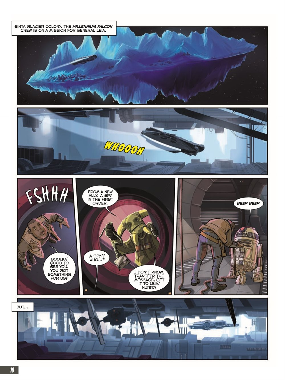 StarWars_IX_TheRiseOfSkywalker_pr-6 ComicList Previews: STAR WARS THE RISE OF SKYWALKER GN