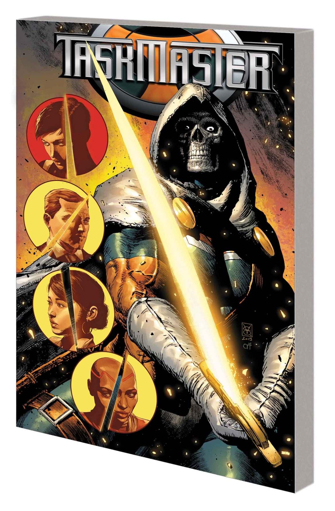 TASKMASTER_RT_TPB Marvel Comics May 2021 Solicitations