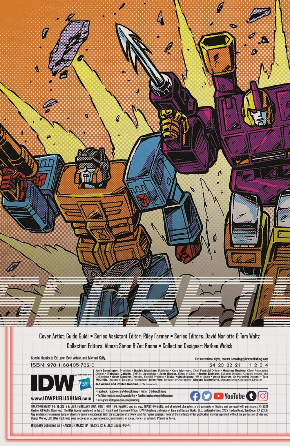 TF84_Secrets_Lies_TPB_pr-2 ComicList Previews: TRANSFORMERS '84 SECRETS AND LIES TP