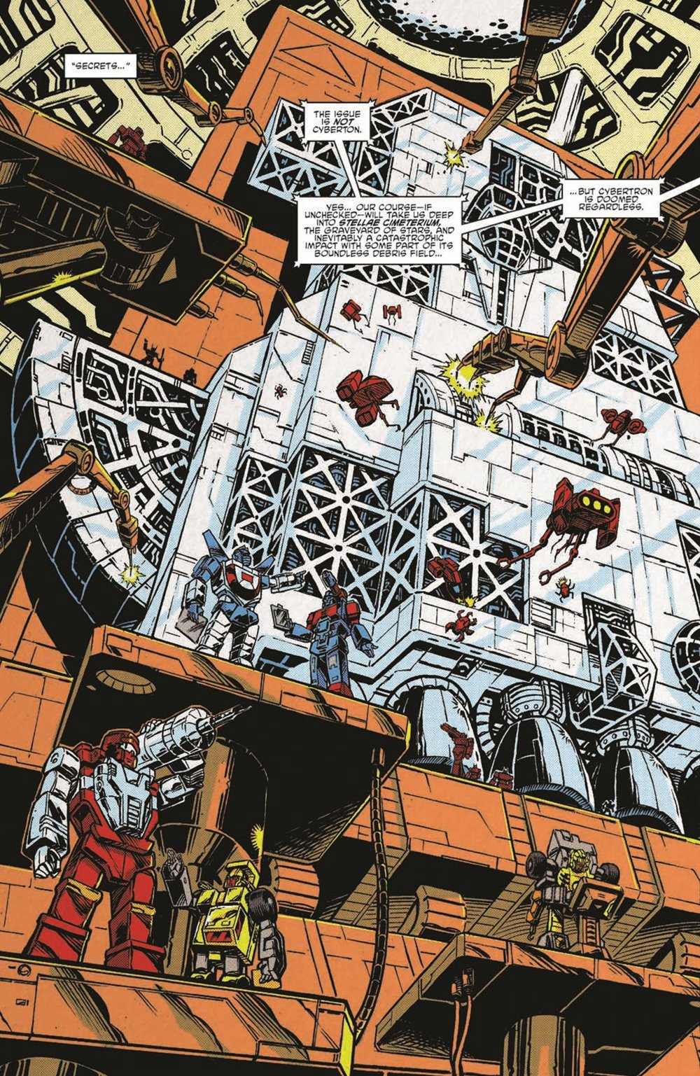 TF84_Secrets_Lies_TPB_pr-5 ComicList Previews: TRANSFORMERS '84 SECRETS AND LIES TP