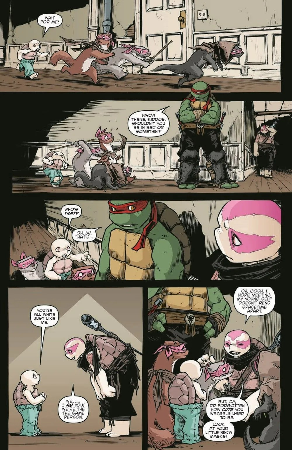 TMNT114_pr-3 ComicList Previews: TEENAGE MUTANT NINJA TURTLES #114