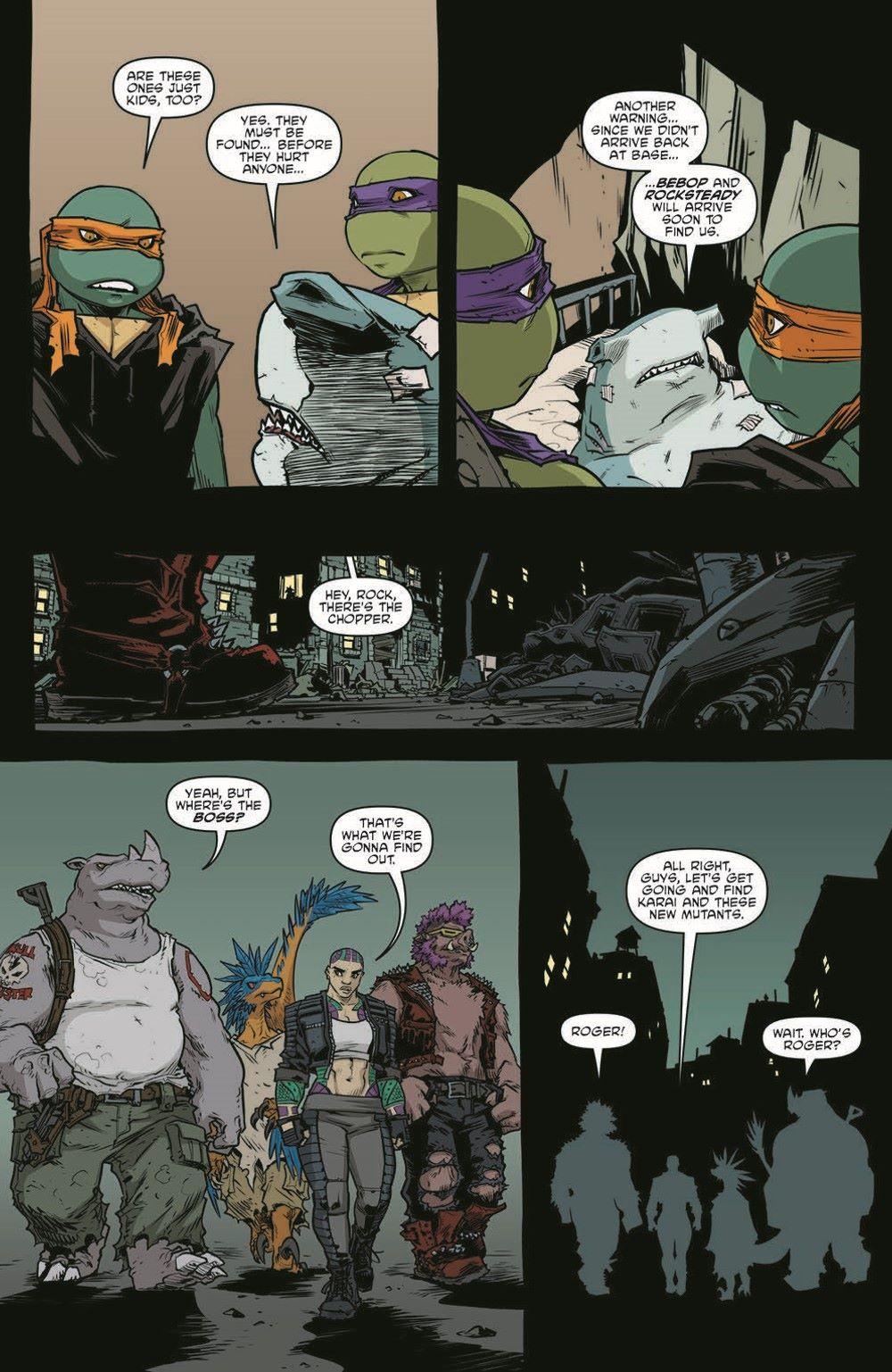 TMNT114_pr-5 ComicList Previews: TEENAGE MUTANT NINJA TURTLES #114