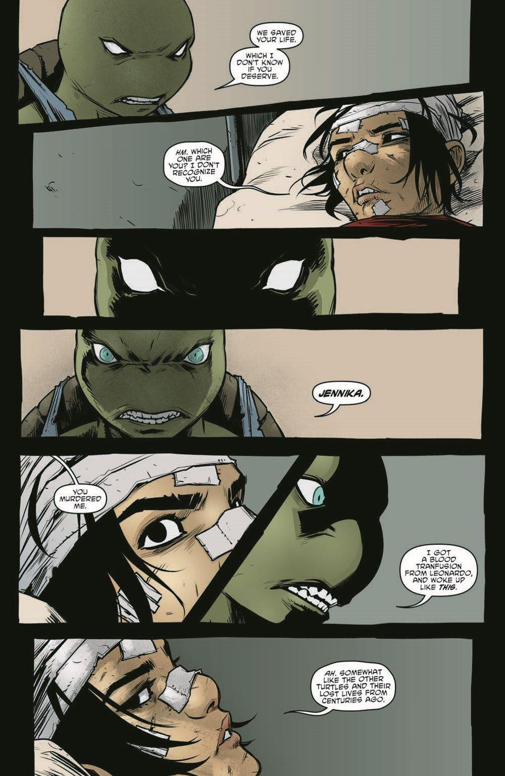 TMNT114_pr-7 ComicList Previews: TEENAGE MUTANT NINJA TURTLES #114