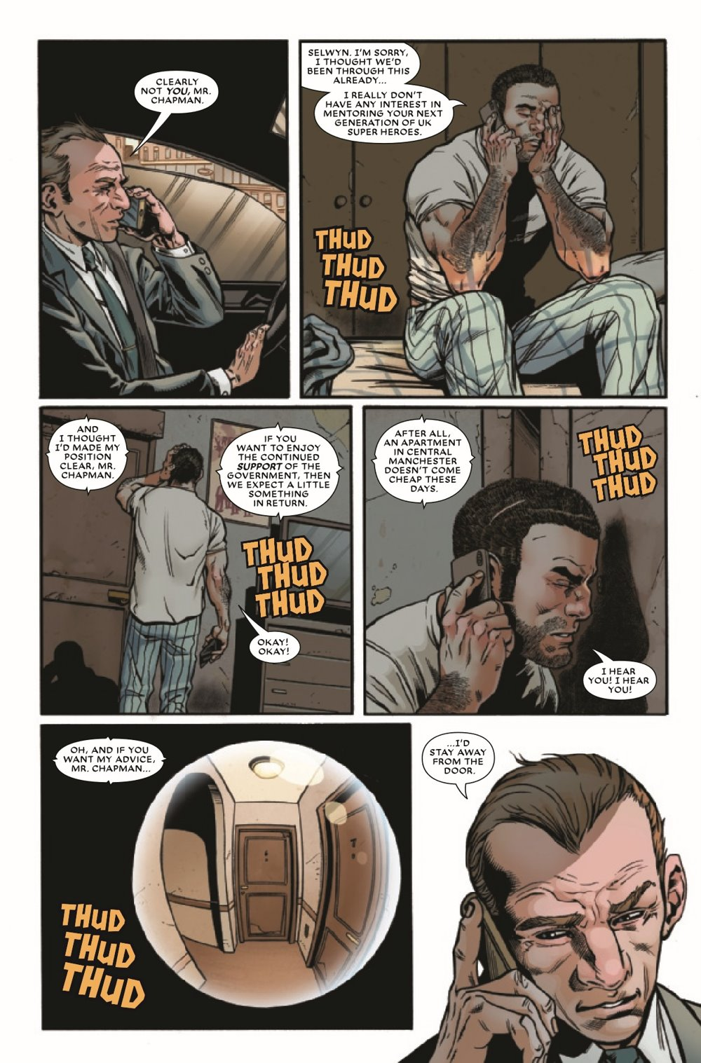 UNION2020003_Preview-4 ComicList Previews: THE UNION #3 (OF 5)