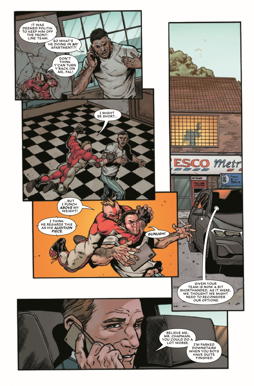 UNION2020003_Preview-6 ComicList Previews: THE UNION #3 (OF 5)