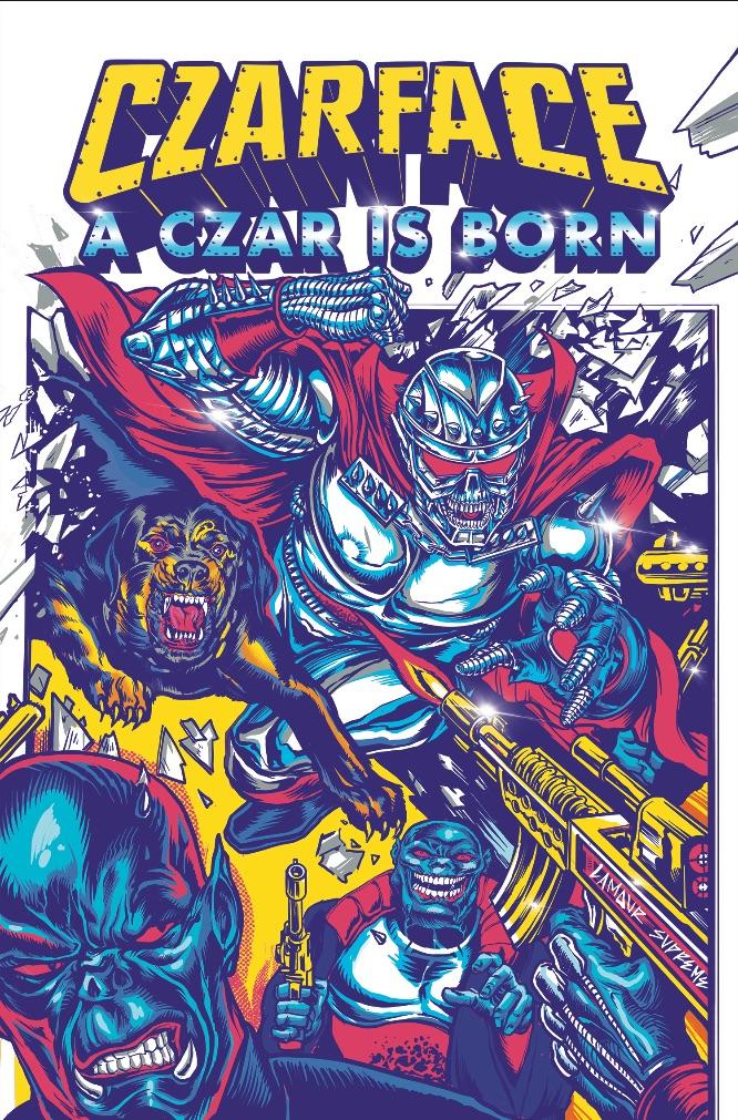 be0f3ed7-91e6-41ab-821f-72751bb361fc Z2 Comics to publish CZARFACE: A CZAR IS BORN