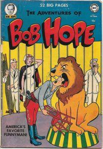 bob-hope-5-208x300 Sneaky Moves #6 Strong Run of Bob Hope Comics?