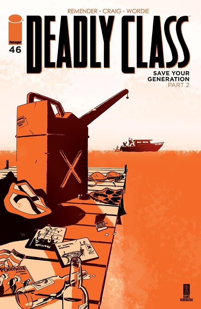 deadlyclass46a Image Comics May 2021 Solicitations