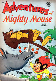 mighty-mouse Sneaky Moves: Are Golden Age Funny Animal Comics Laughing Their Way Up?