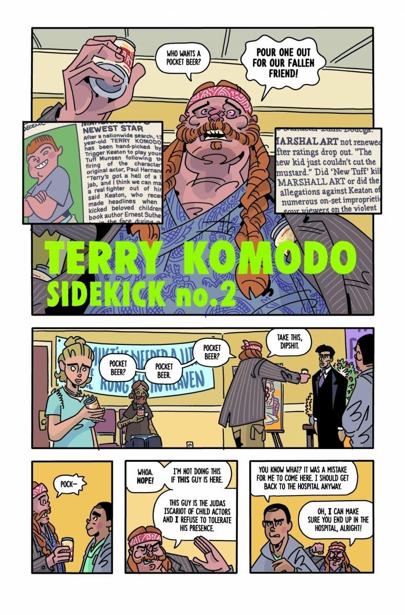 1-11_c6815a0147f8285e3b5042ebb3626151 First Look at Image Comics' THE SIX SIDEKICKS OF TRIGGER KEATON #1