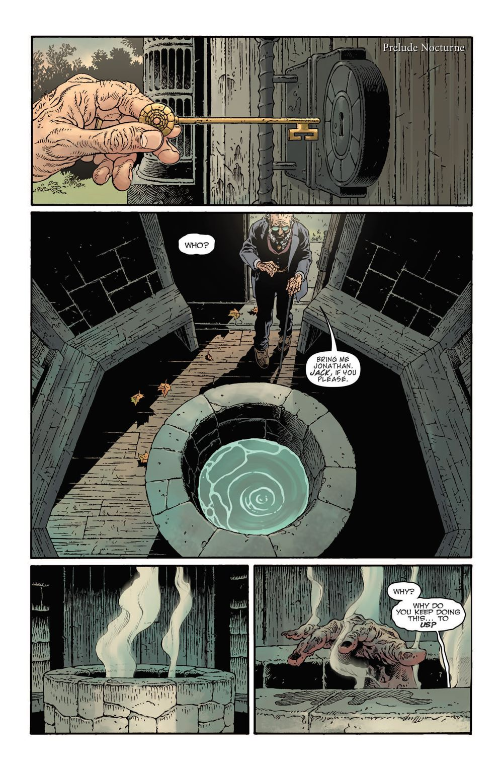 93427034-801e-4e72-ac60-b8c1688d9b8a First Look at IDW Publishing's LOCKE AND KEY THE SANDMAN UNIVERSE HELL AND GONE #1