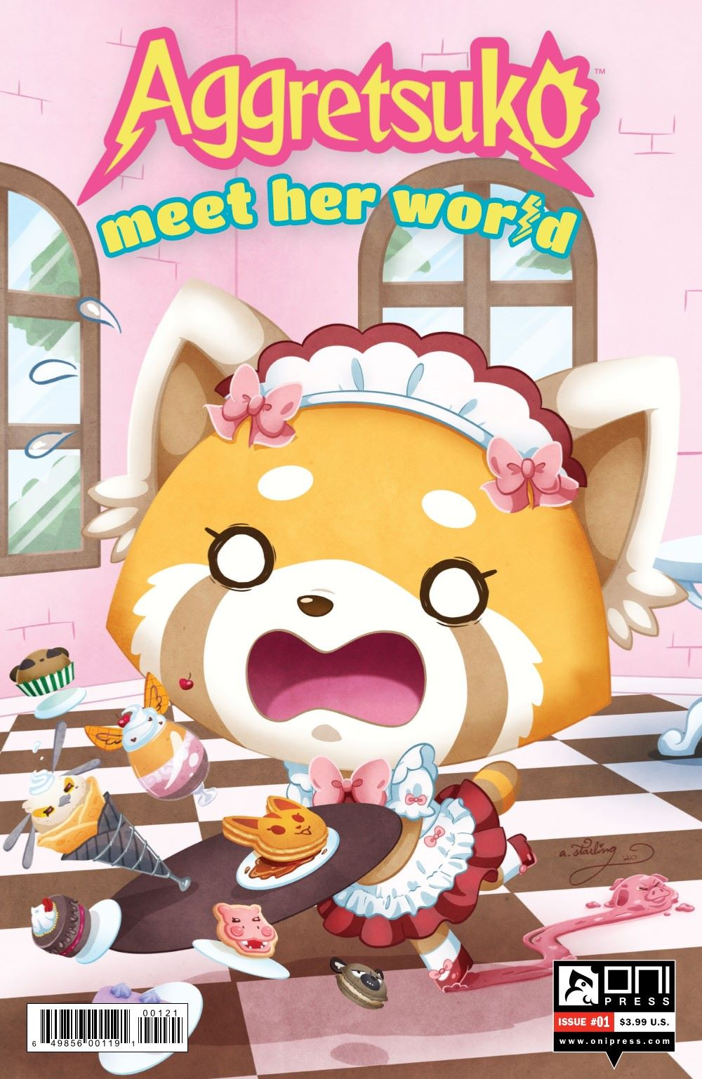 AGGRETSUKO-MHW-1-MARKETING-02 ComicList Previews: AGGRETSUKO MEET HER WORLD #1