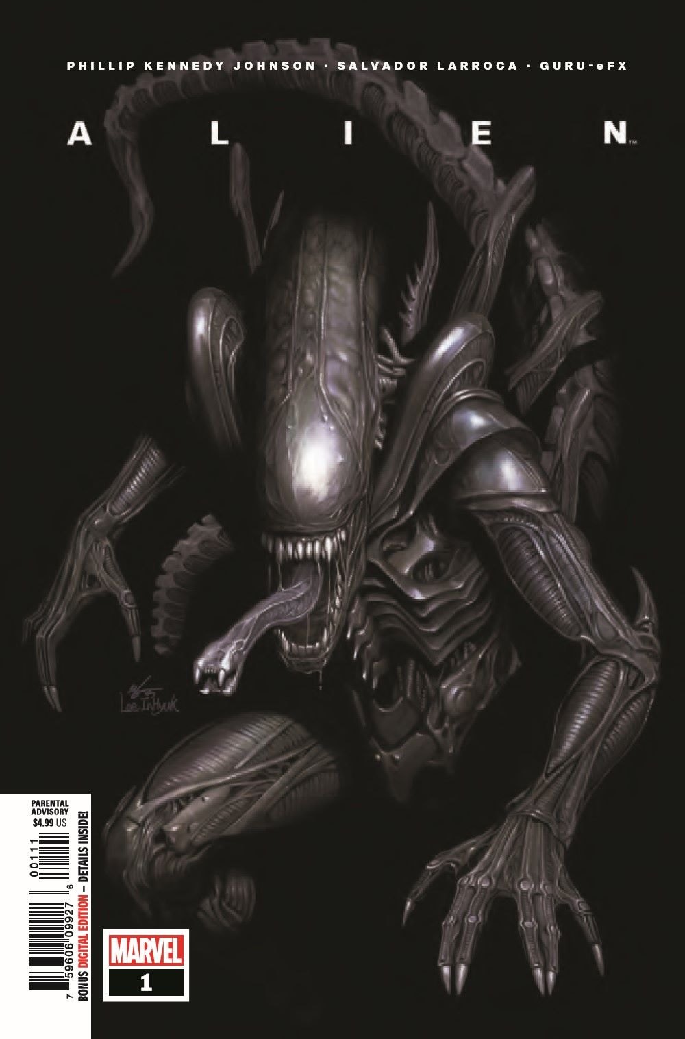 ALIEN2021001_Preview-1 ComicList Previews: ALIEN #1