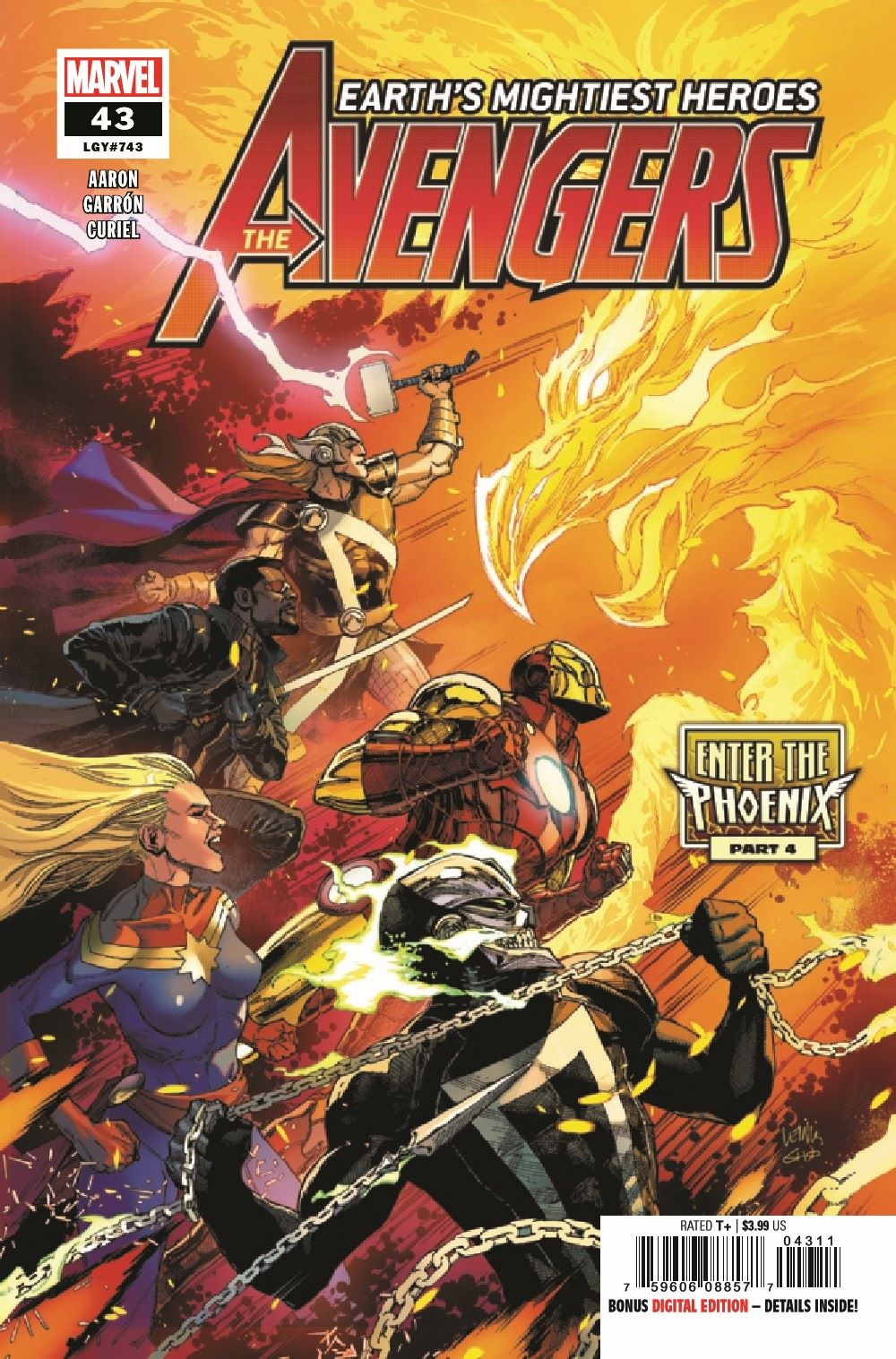 AVEN2018043_Preview-1 ComicList Previews: THE AVENGERS #43