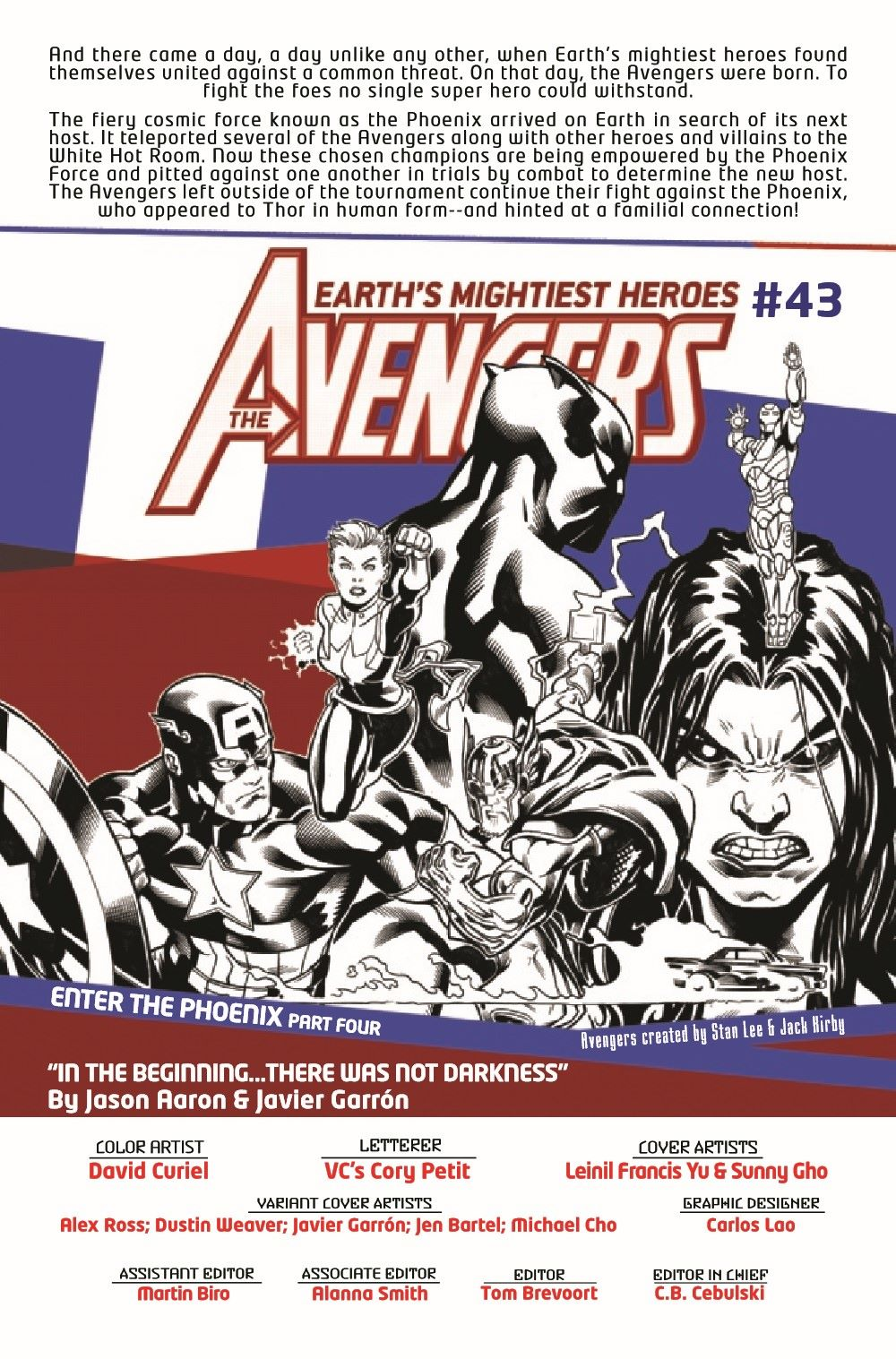 AVEN2018043_Preview-2 ComicList Previews: THE AVENGERS #43