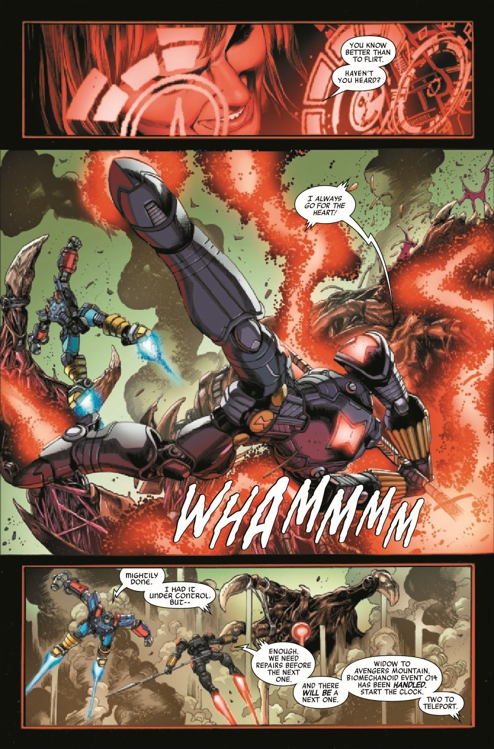 AVENMECHST2021002_Preview-6 ComicList Previews: AVENGERS MECH STRIKE #2 (OF 5)