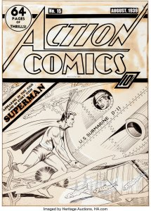 Action-Comics-15-cover-art-by-Fred-Guardineer-215x300 A Golden Age Hero's Journey: From 1 to 1000!